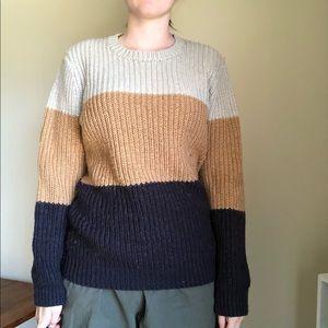 Forever 21 Men's Tri-Color sweater